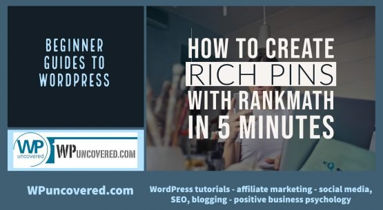 How to create Pinterest Rich Pins with RankMath - in 5 minutes Rich Pins display more information about the connected website, update automatically and are branded. It takes 5 minutes to connect with WordPress and create Rich Pins with RankMath plugin.