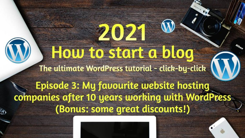 favourite website hosting services with great discounts for blue hosting, SiteGround and WPEngine