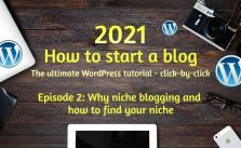 How to find your niche before you start blogging