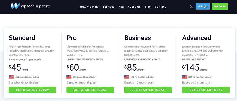 What is website maintenance? The 3 best and most affordable plans 2021 Some of the best website maintenance plans for $55 include 24/7 monitoring, emergency fixes, malware removal, WP updates, backups and more.