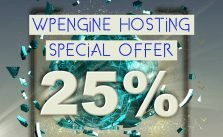 WPEngine hosting coupon and free WordPress themes