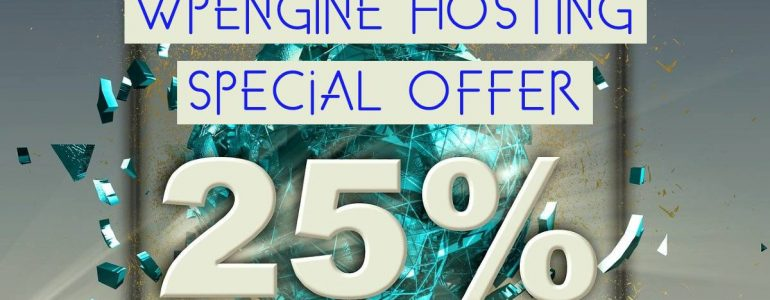 WPEngine hosting coupon - get 3 months free